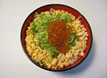 Salmon Flakes with Salmon Roe Bowl