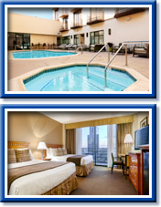 pool and room