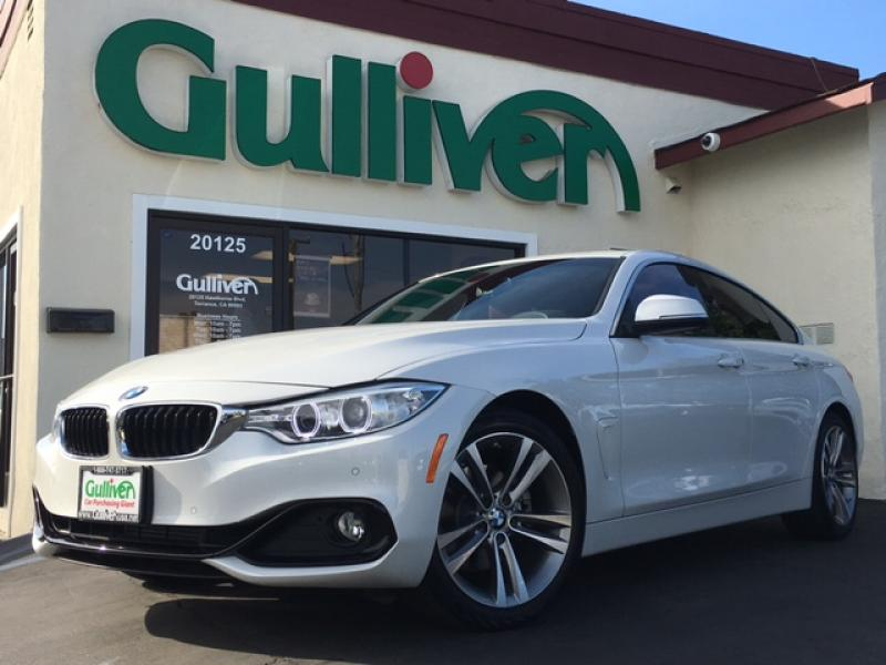 2016 BMW BMW 4 SERIES 428I GRAN COUPE 4D 2016年式