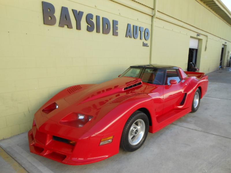 1981 Chevrolet コルベット エックラーデイトナ カスタムモデルです 所ジョージさんの番組に出て来たモデルと同じです!
