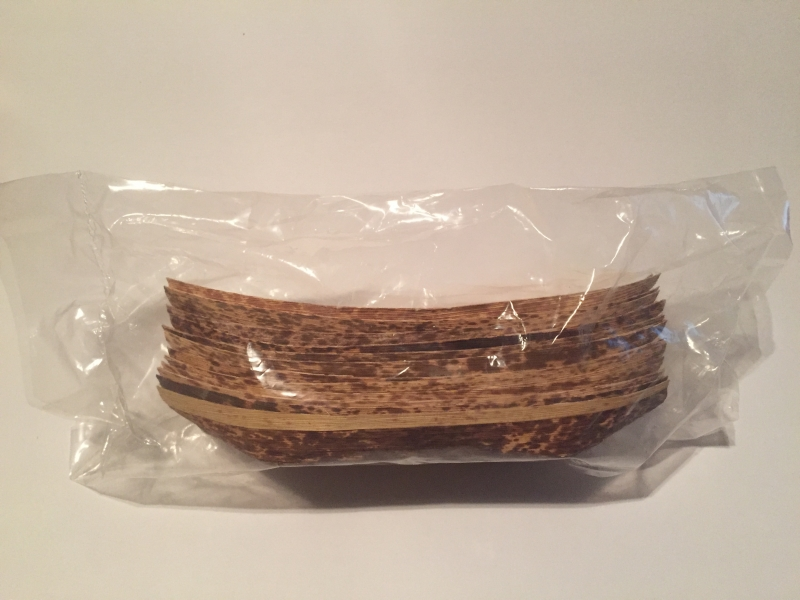 Bamboo Boat Plate Disposable