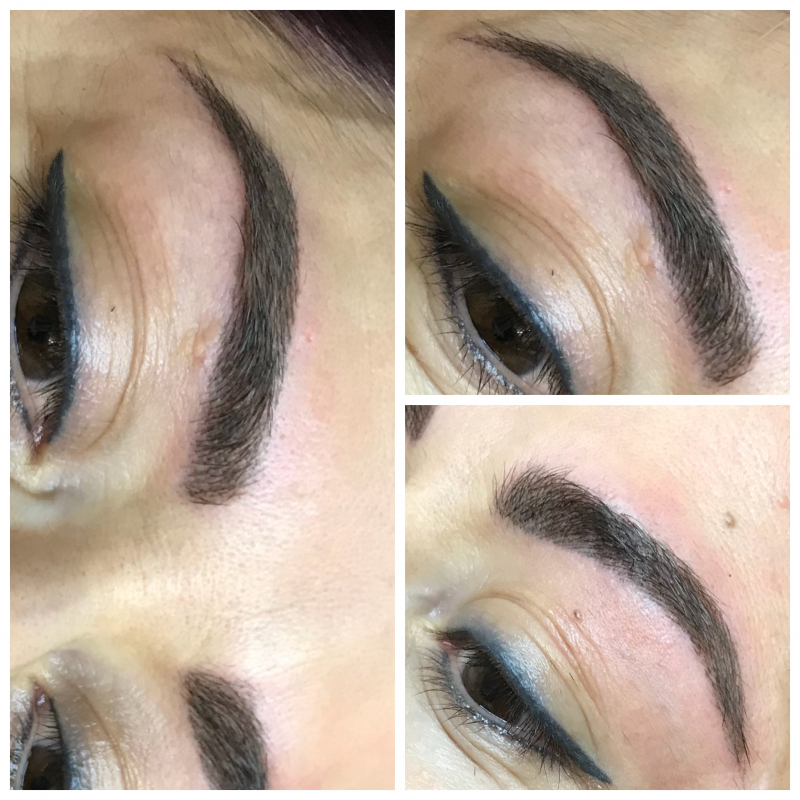 European lady's brows