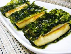 豆腐&チーズの韓国のりサンド