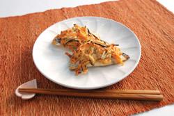 鰆(サワラ)と野菜のマヨネーズ焼き