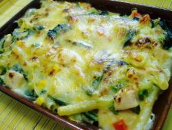 野菜のマカロニグラタン