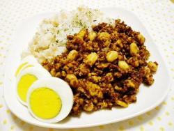 豆腐INキーマカレー