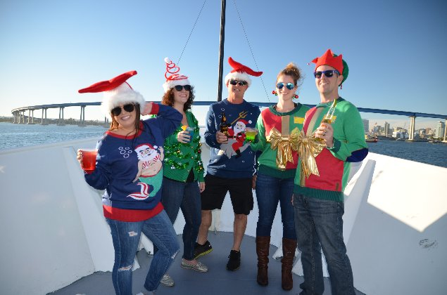 Ugly Sweater Holiday Cocktail Cruise