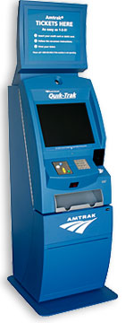 Quik-Trak Self-Service Ticketing Kiosk